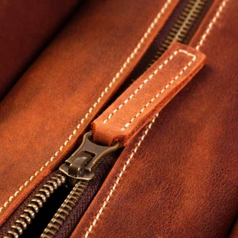 Leather Bag Close Up