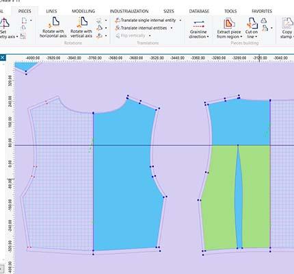 Esempio 2 Interfaccia CAD Modellistica