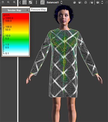 3D Fashion Interfaccia 3