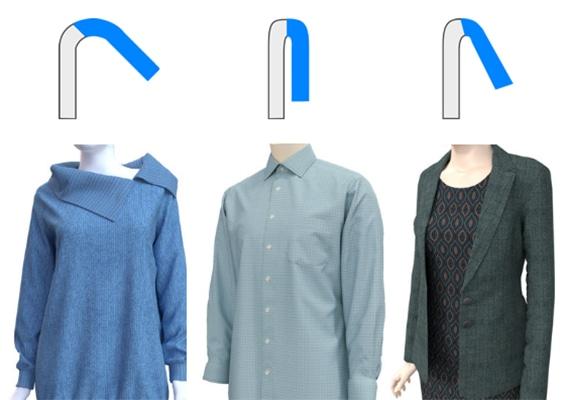 3D Abbigliamento Pieghe