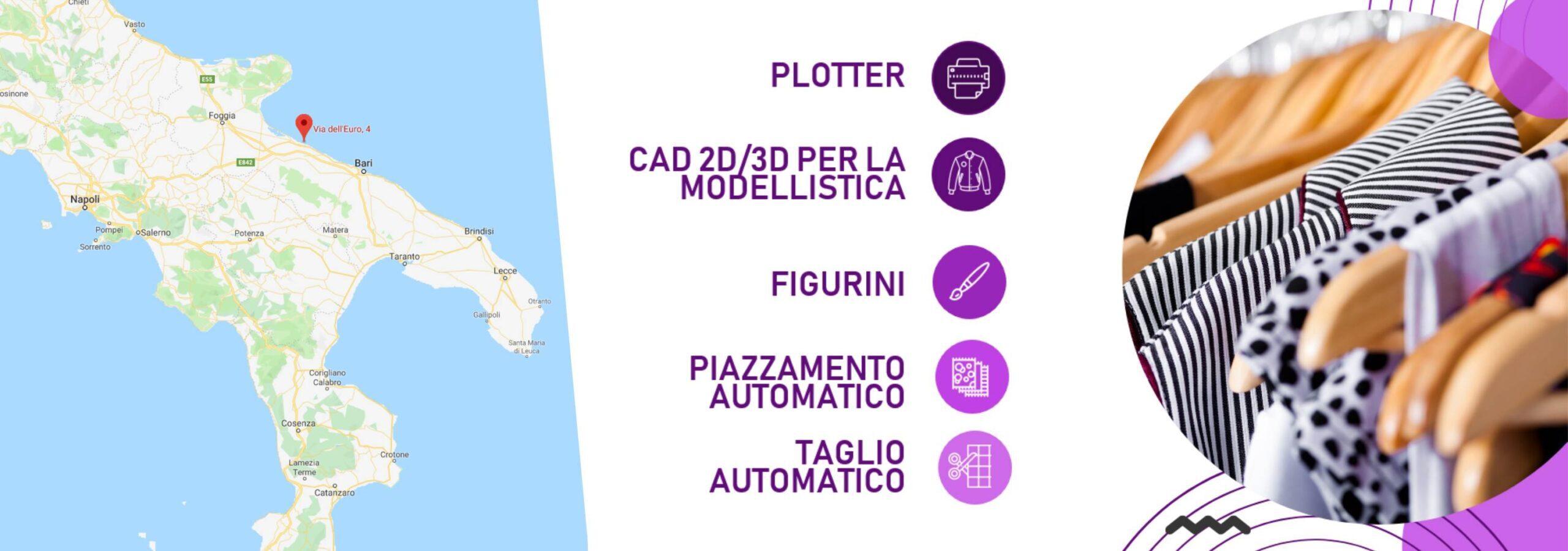 modellistica puglia CAD